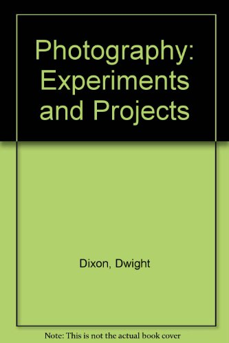 9780023298400: Photography: Experiments and Projects