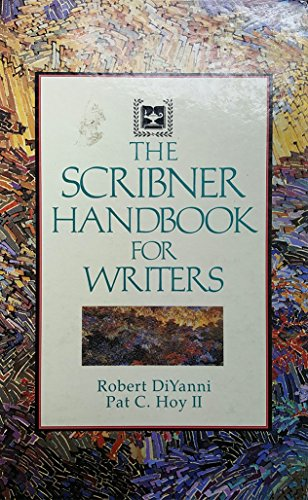 9780023298646: The Scribner Handbook for Writers