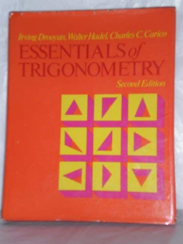 9780023302206: Essentials of Trigonometry