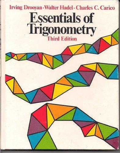 9780023302701: Essentials of trigonometry