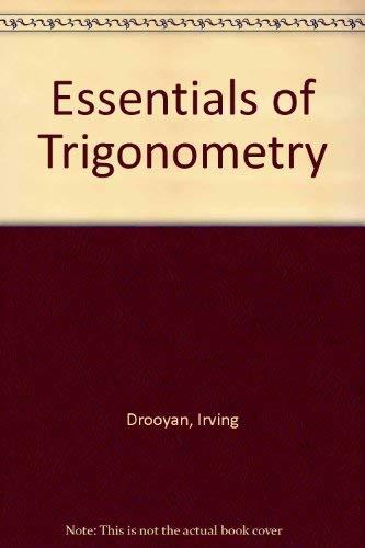 9780023305702: Essentials of Trigonometry