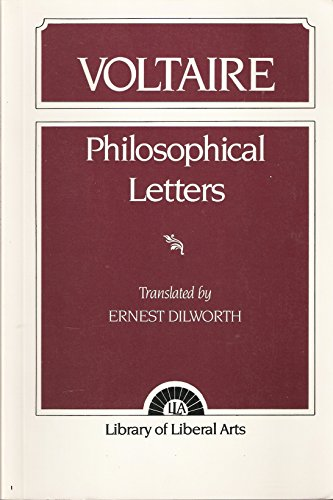 9780023306105: Philosophical Letters: Voltaire