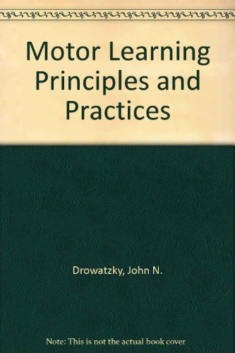 9780023307409: Motor Learning Principles and Practices