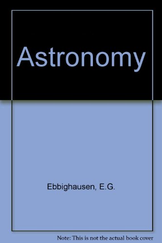9780023313301: Astronomy (Macmillan earth science series)