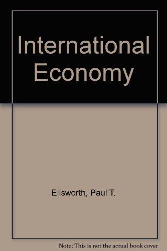 9780023327506: International Economy