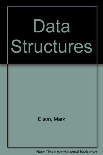 9780023327513: Data Structures