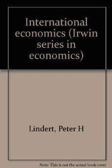 9780023327605: International Economy
