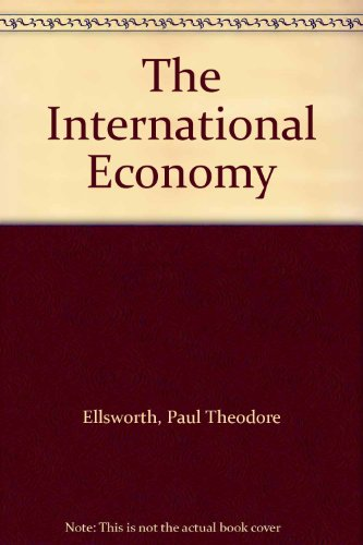 9780023327704: The International Economy