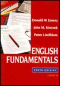 9780023329104: English Fundamentals, Form B