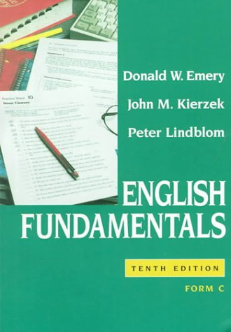 9780023329203: English Fundamentals: Form C