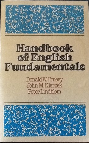 9780023329401: Handbook of English fundamentals