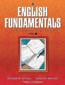 9780023335600: English Fundamentals Form B