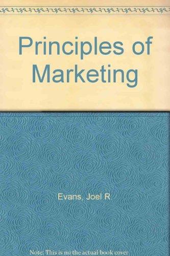 9780023343407: Principles of Marketing