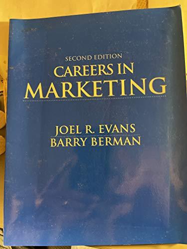 9780023347498: Principles Marketing Careers