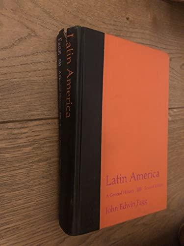 9780023347801: Latin America: A General History