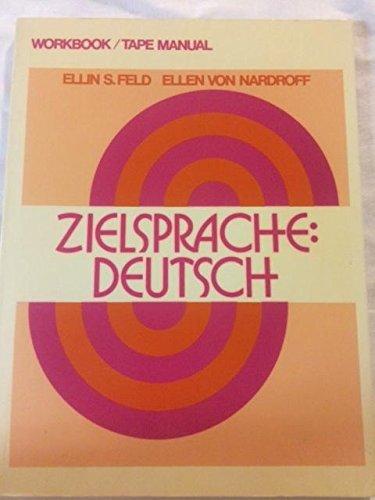 9780023368301: Zielsprache: Deutsch workbook/tape manual