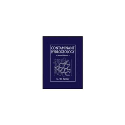 9780023371356: Contaminant Hydrogeology