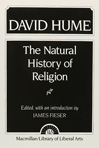 9780023372506: David Hume: The Natural History of Religion