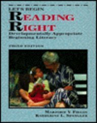 9780023372834: Let's Begin Reading Right: Developmentally Appropriate Beginning Literacy