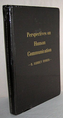 9780023379901: Perspectives on Human Communications