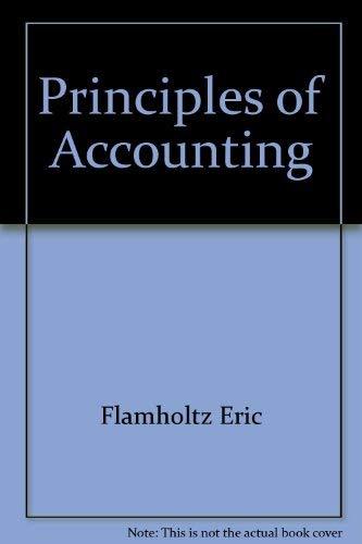 9780023382109: Principles of accounting