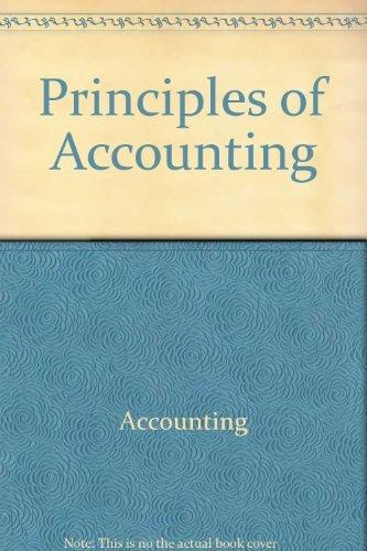9780023382208: Principles of Accounting