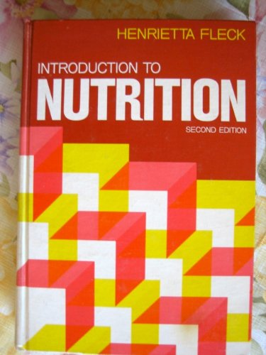 9780023382802: Introduction to Nutrition