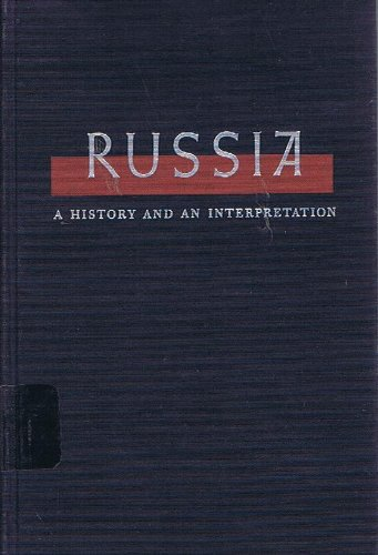 9780023384202: Russia: v. 2: History and Interpretation