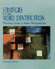 9780023391910: Strategies for Word Identification: Phonics from a New Perspective