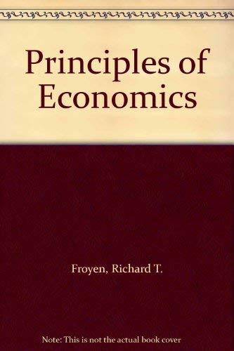 9780023394300: Principles of Economics