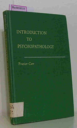 9780023396403: Introduction to Psychopathology