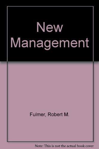 9780023397400: New Management