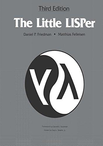 9780023397639: The Little LISPer, Third Edition