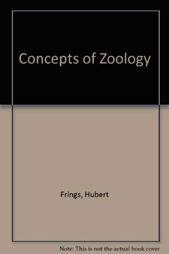 9780023399008: Concepts of Zoology
