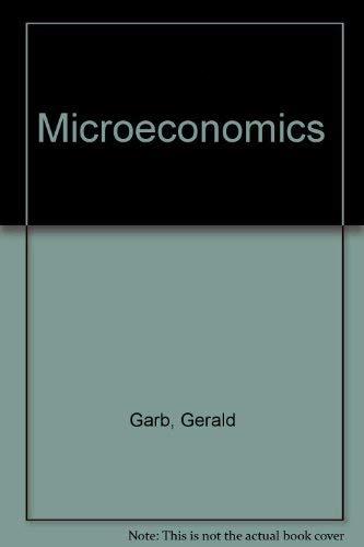 9780023404009: Microeconomics