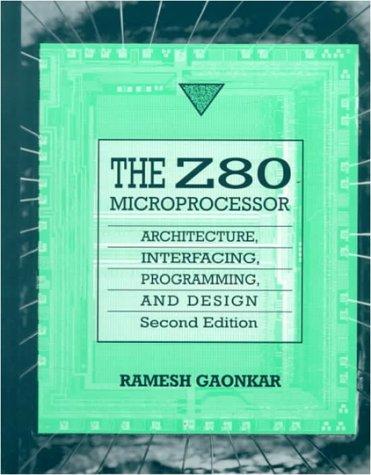 9780023404849: Z-80 Microprocessor: Architecture, Interfacing, Programming and Design