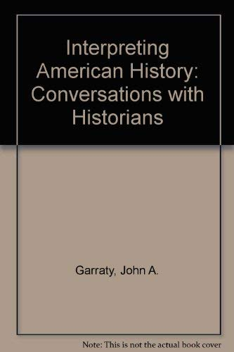 9780023406508: Interpreting American History: Conversations with Historians