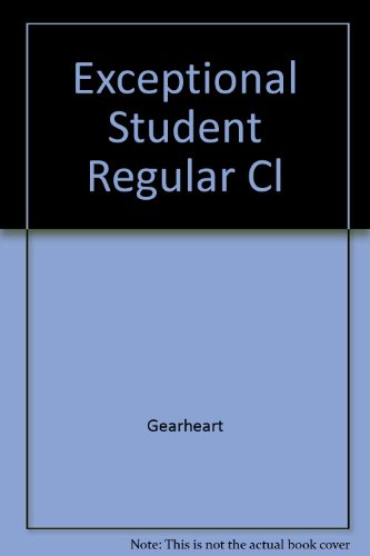 9780023412219: Exceptional Student Regular Cl