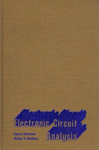 9780023416903: Electronic Circuit Analysis