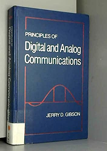 9780023417801: Principles of Digital and Analogue Communications
