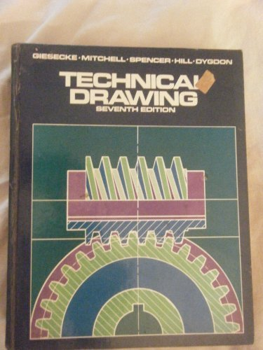 9780023426902: Technical Drawing with Computer Graphics, 7th Edition