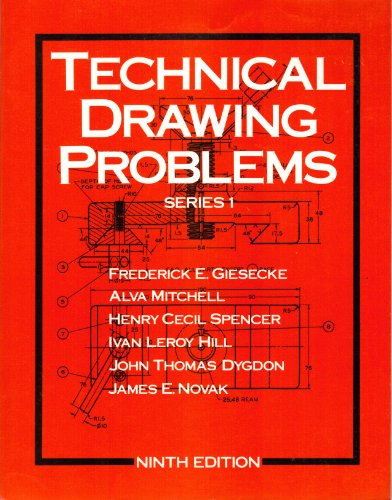 9780023427701: Technical Drawing Problems (Series 1)