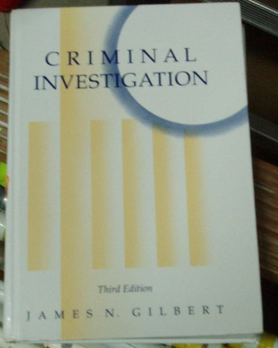 9780023429019: Criminal Investigation