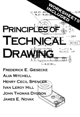 9780023437359: Principles of Technical Drawing