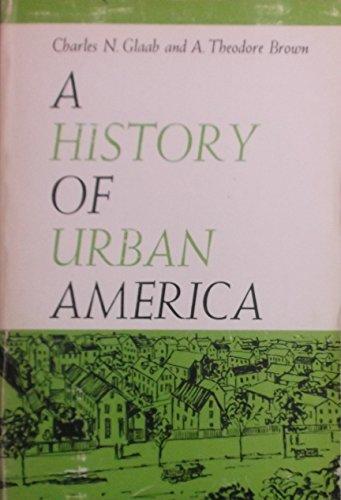 9780023441202: A History of Urban America