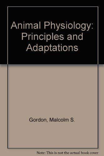 9780023453205: Animal Physiology: Principles and Adaptations