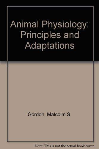 9780023453205: Animal Physiology: Principles and Adaptations