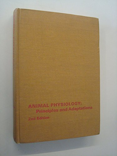 9780023453601: Animal Physiology: Principles and Adaptations