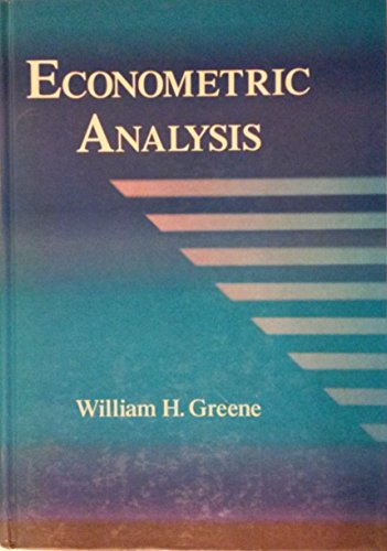 9780023463907: Econometric Analysis