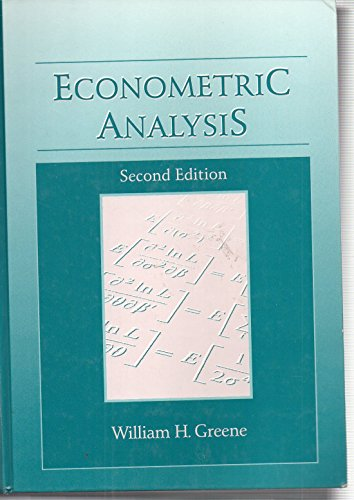 9780023463914: Econometric Analysis
